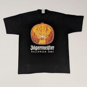 2001 Jagermeister Halloween T-shirt